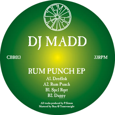DJ Madd - Rum Punch EP - Unearthed Sounds