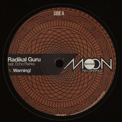 Radikal Guru ft. Echo Ranks - ‎Warning! - Unearthed Sounds
