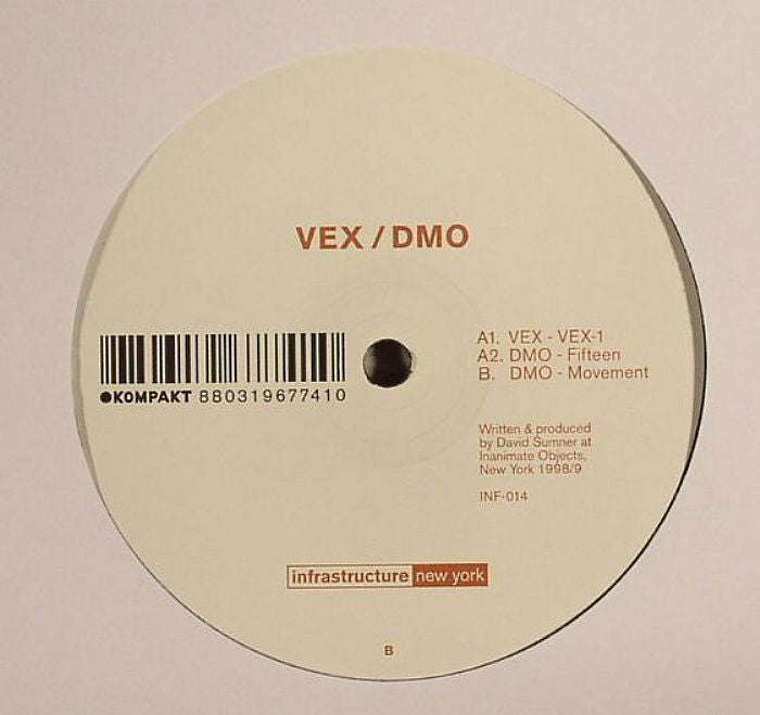 VEX/ DMO - VEX-1/ Fifteen/ Movement - Unearthed Sounds