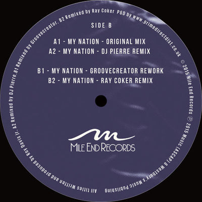 Roy Davis Jr. ft. Terry Dexter - My Nation - Unearthed Sounds, Vinyl, Record Store, Vinyl Records