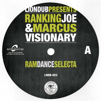 Ranking Joe & Marcus Visionary - Ram Dance Selecta / Jungle General - Unearthed Sounds