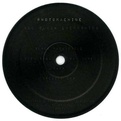 PhOtOmachine - All Black Everything EP - Unearthed Sounds, Vinyl, Record Store, Vinyl Records