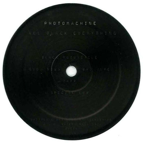 PhOtOmachine - All Black Everything EP