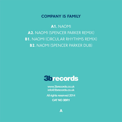 Company Is Family - Naomi - Unearthed Sounds