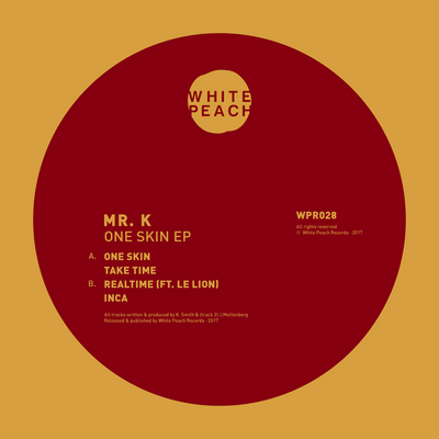 Mr.K - One Skin EP - Unearthed Sounds