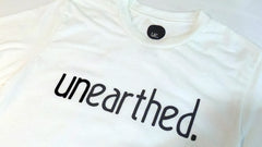Unearthed Logo White T-Shirt , T-Shirt - Unearthed Sounds, Unearthed Sounds - 4