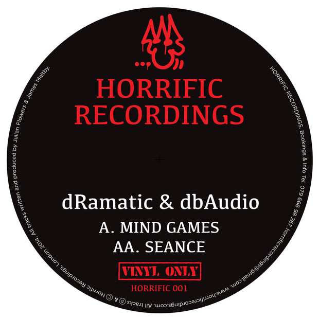 dRamatic & dbAudio ‎- Mind Games / Seance - Unearthed Sounds