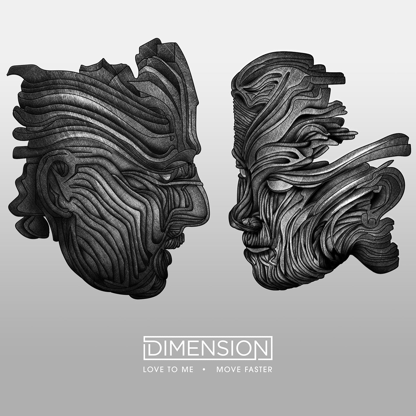 Dimension - Love to Me / Move Faster - Unearthed Sounds