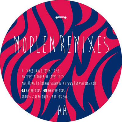 Moplen - Remixes - Unearthed Sounds, Vinyl, Record Store, Vinyl Records
