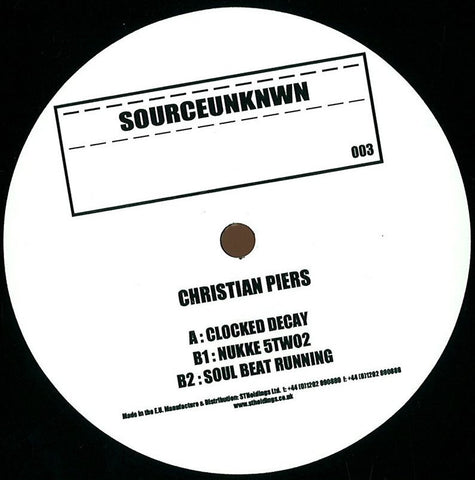 Christian Piers (Laszlo Dancehall) ‎- Clocked Decay