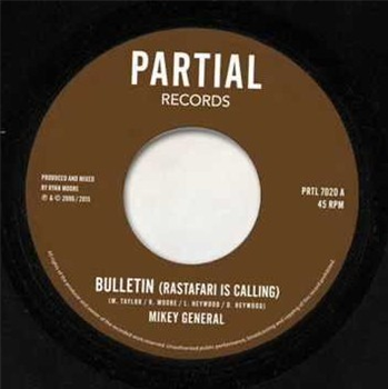 Mikey General / Twilight Circus - Bulletin - Unearthed Sounds