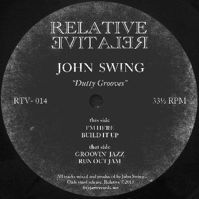 John Swing - Dutty Grooves - Unearthed Sounds