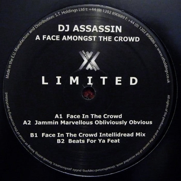 DJ Assassin - A Face Amongst the Crowd - Unearthed Sounds