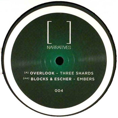 Overlook / Blocks & Escher - Three Shards / Embers - Unearthed Sounds, Vinyl, Record Store, Vinyl Records