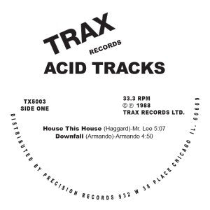 Various Artists - Acid Tracks - Unearthed Sounds