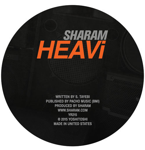 Sharam - HEAVi - Unearthed Sounds
