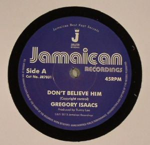 Gregory Isaacs - Don't Believe Him / The Village - Unearthed Sounds