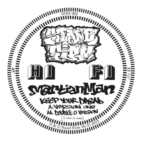 Martian Man - Keep Your Dread / Double O Remix