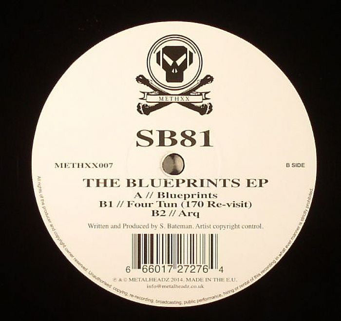 SB81 - The Blueprints EP - Unearthed Sounds