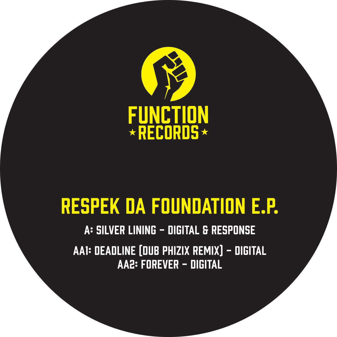 Digital - Respek Da Foundation EP - Unearthed Sounds