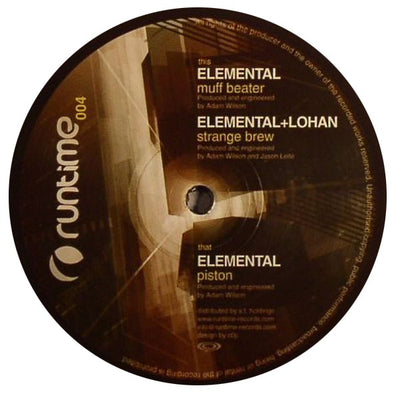 Elemental - Piston - Unearthed Sounds