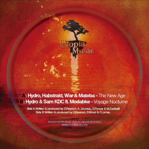 Hydro, Habstrakt, War & Mateba / Hydro & Sam KDC - The New Age / Voyage Noctrune - Unearthed Sounds