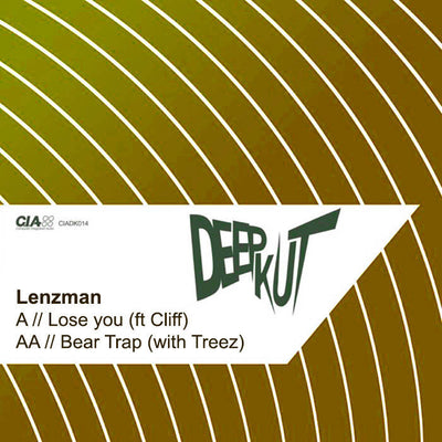Lenzman - Lose You / Bear Trap - Unearthed Sounds