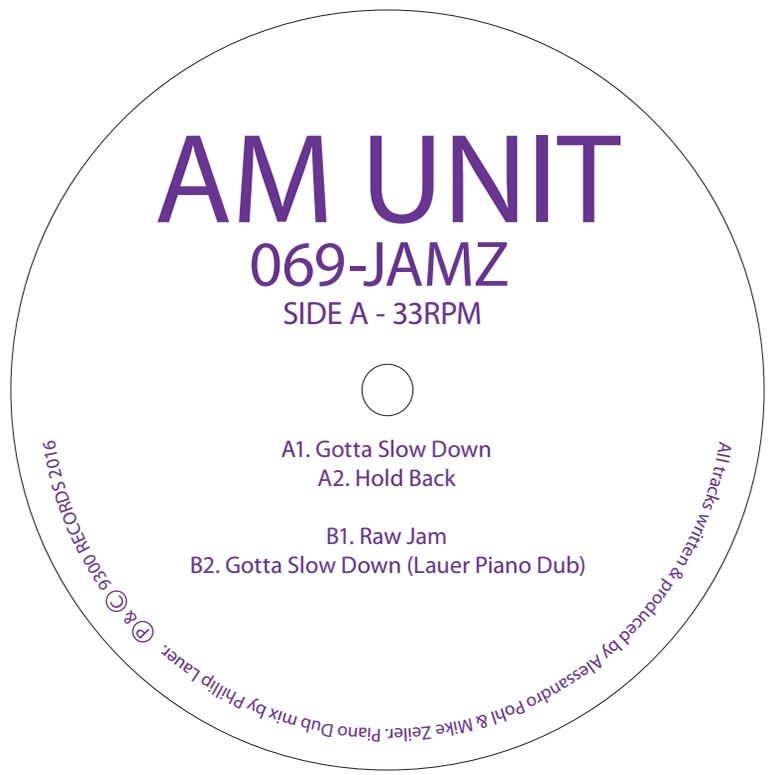AM Unit - 069 Jamz - Unearthed Sounds