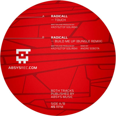 Radicall - Touch / Build Me Up (Bungle Remix) - Unearthed Sounds, Vinyl, Record Store, Vinyl Records