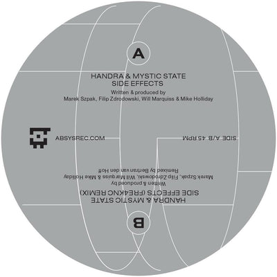 Handra & Mystic State [Icnl. Fre4knc Remix] - Side Effects - Unearthed Sounds, Vinyl, Record Store, Vinyl Records