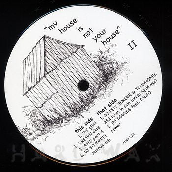 Various Artists - My House Is Not Your House II - Unearthed Sounds, Vinyl, Record Store, Vinyl Records