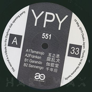 Ypy - 551 - Unearthed Sounds, Vinyl, Record Store, Vinyl Records
