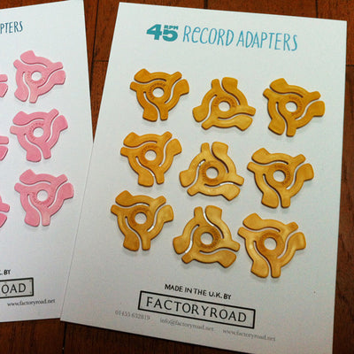 A5 Retail Card Of 9 Adapters - Unearthed Sounds