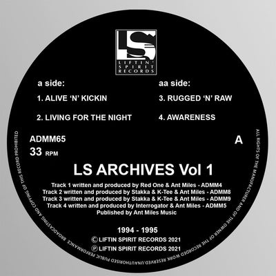 Various Artists - LS Archives Vol 1 (1994/1995)