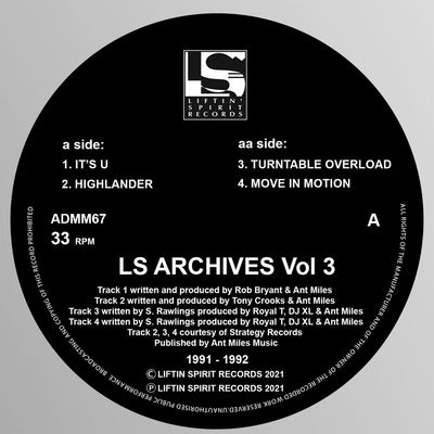 Various Artists - LS Archives Vol 3 (1991/1992)