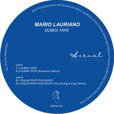 Mario Lauriano -  Dubra Tape (inc. Substance Remix)
