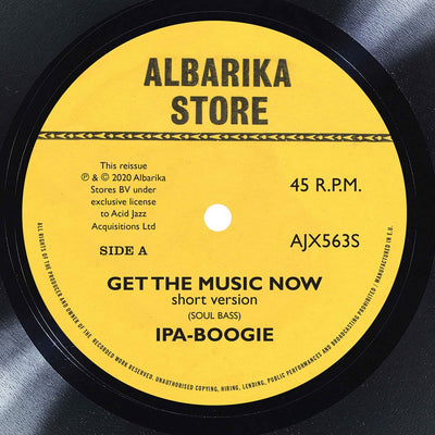 "Ipa-Boogie - Get The Music Now / Africa [7"" Vinyl] - Unearthed Sounds"