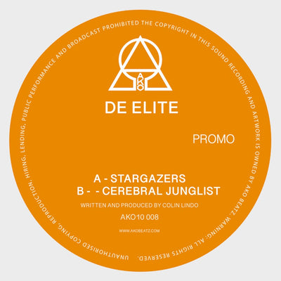 AKO10 Series Presents: De Elite [Limited Orange 10″ Vinyl]
