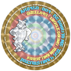 "Tek 9 & Stretch / Tom & Jerry ‎– Be Good to Me / Likkle Sound [7"" Picture Disc pressed on 12"" Vinyl]"