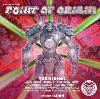 "AKO Beatz - Point of Origin [4 x 12"" Bundle] - Unearthed Sounds"