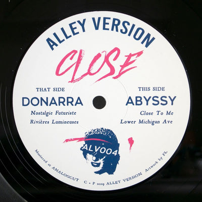 Donarra / Abyssy - Close EP - Unearthed Sounds