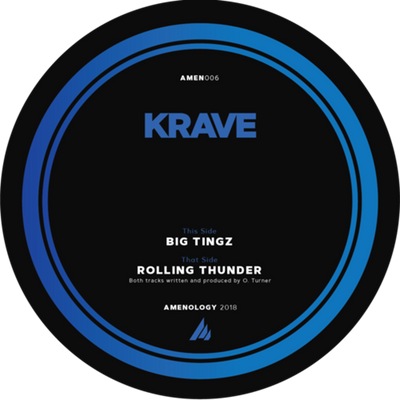 Krave - Big Tingz / Rolling Thunder - Unearthed Sounds