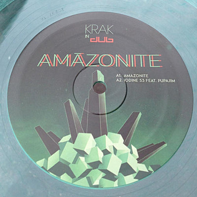 "Krak In Dub - Amazonite EP 01 [12"" Transparent Green] - Unearthed Sounds"