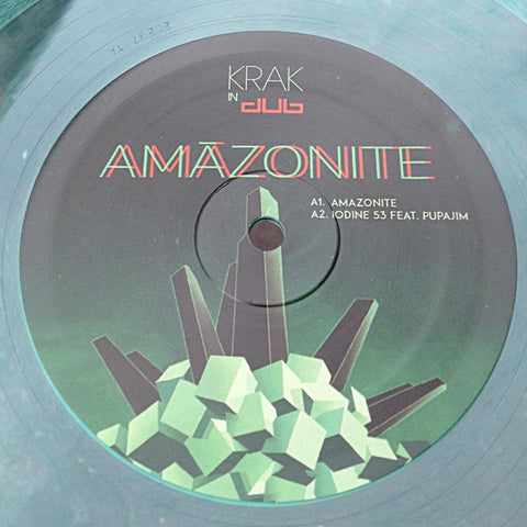 "Krak In Dub - Amazonite EP 01 [12"" Transparent Green]"