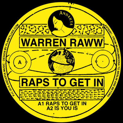 Warren Raww - Raps To Get In - Unearthed Sounds