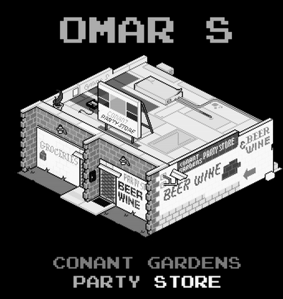 Omar S -  Conant Gardens Party Store - Unearthed Sounds