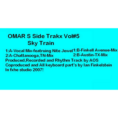 Omar S - Side Trakx Vol.5