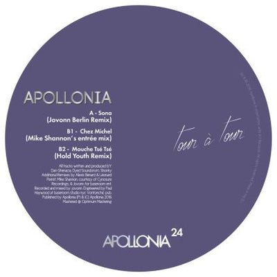 Apollonia - Remixes by Jovonn, M. Shannon, Hold Youth - Unearthed Sounds