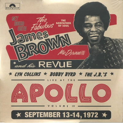 James Brown Revue - Live At The Apollo 1972 [2 x LP] - Unearthed Sounds