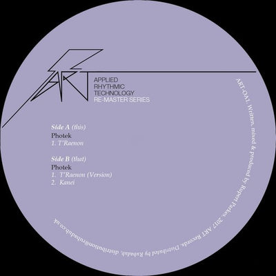Photek - T'Raenon (Remastered Edition) - Unearthed Sounds